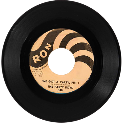 The Party Boys 45 record